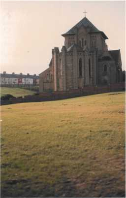South-facing view of St. Mary's Church, Horden