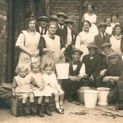Residents at Easington Colliery Council School, 1926 (D/Ph 303/1)