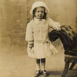 Photograph of Mary Jane Harvey, aged about 3 years, c. 1915