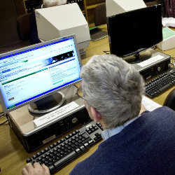 Searching online in the archives