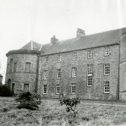 Croxdale Hall, north elevation, with private chapel on the left (CC/Planning 1228/4)