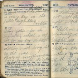 Diary of Robert Parkin, DLI, 1916-1917 (D/DLI 7/932/1)