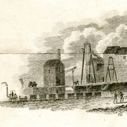 Hetton Colliery, c.1823 (detail from NCB I/X 37)