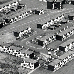 Aerial photograph of south west Peterlee, c.1977 (NT/Pe 7/5/4/19(2))
