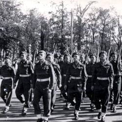9 DLI at Berlin Victory Parade, 1945 (D/DLI 7/273/15(18))