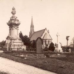 Bishop Auckland cemetery, 1898 (D/CL 5/223)