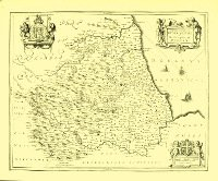Map of the Bishoprick of Durham [1646/1652]